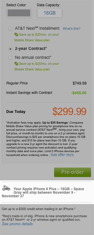AT&T store is lying to people about iPhone 6 delivery dates.-screen-shot-2014-09-12-4.00.42-pm.png