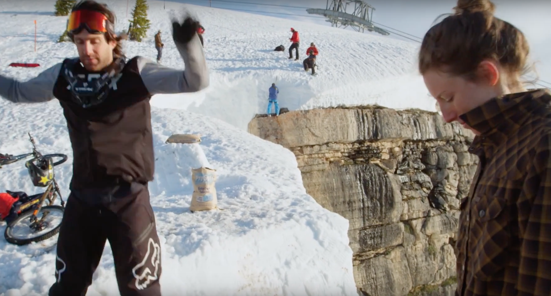 Who's gonna send it bigger? Cam McCaul or Casey Brown?