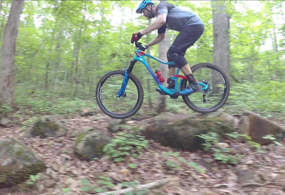 Jeff Lenosky Trail Boss tackles Free Fall