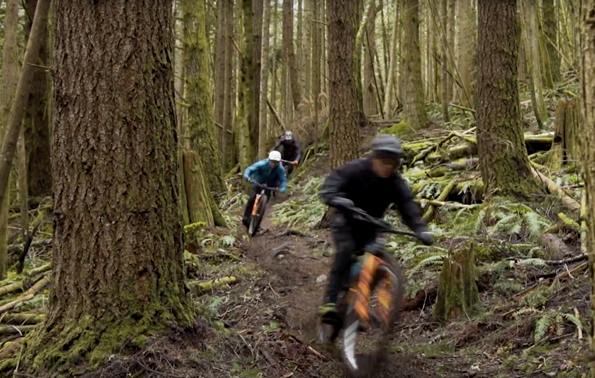 Thomas Vanderham, Featuring Remi Gauvin and Jesse Melamed shred the Squamish trails.
