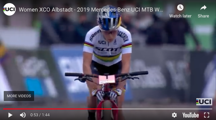 First American to Win a XC World Cup Race in 20 years- Mtbr com
