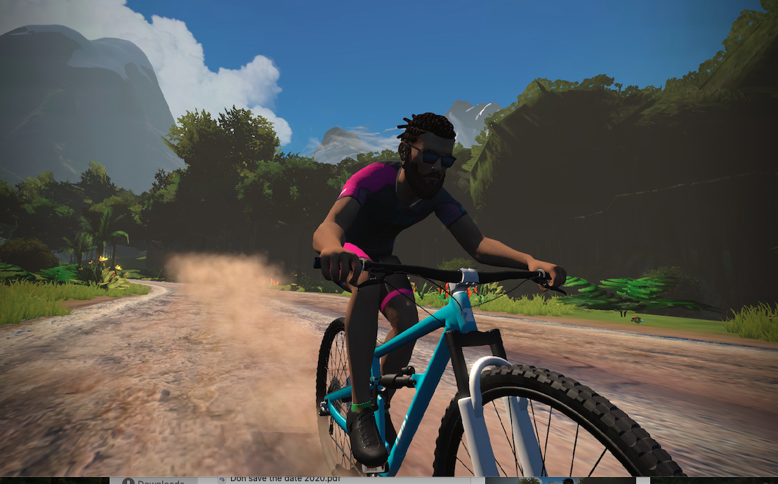 Zwift racing