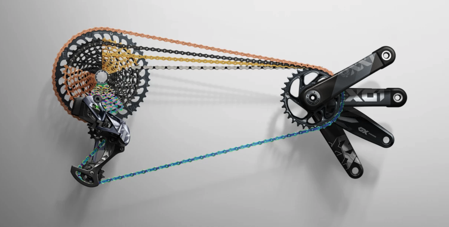 SRAM's new 10-52t drivetrains out-gear Shimano.