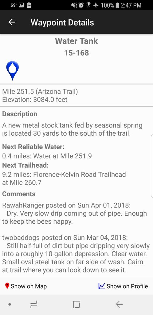 Doing the Gila River Ramble Ride Next Weekend Oct 17th Advice??-screenshot_20181012-144745_arizona-trail.jpg
