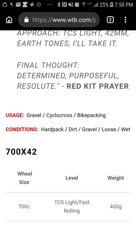 WTB tire weights? New 700x42 Resolutes Way off?-screenshot_20181228-195014_chrome.jpg