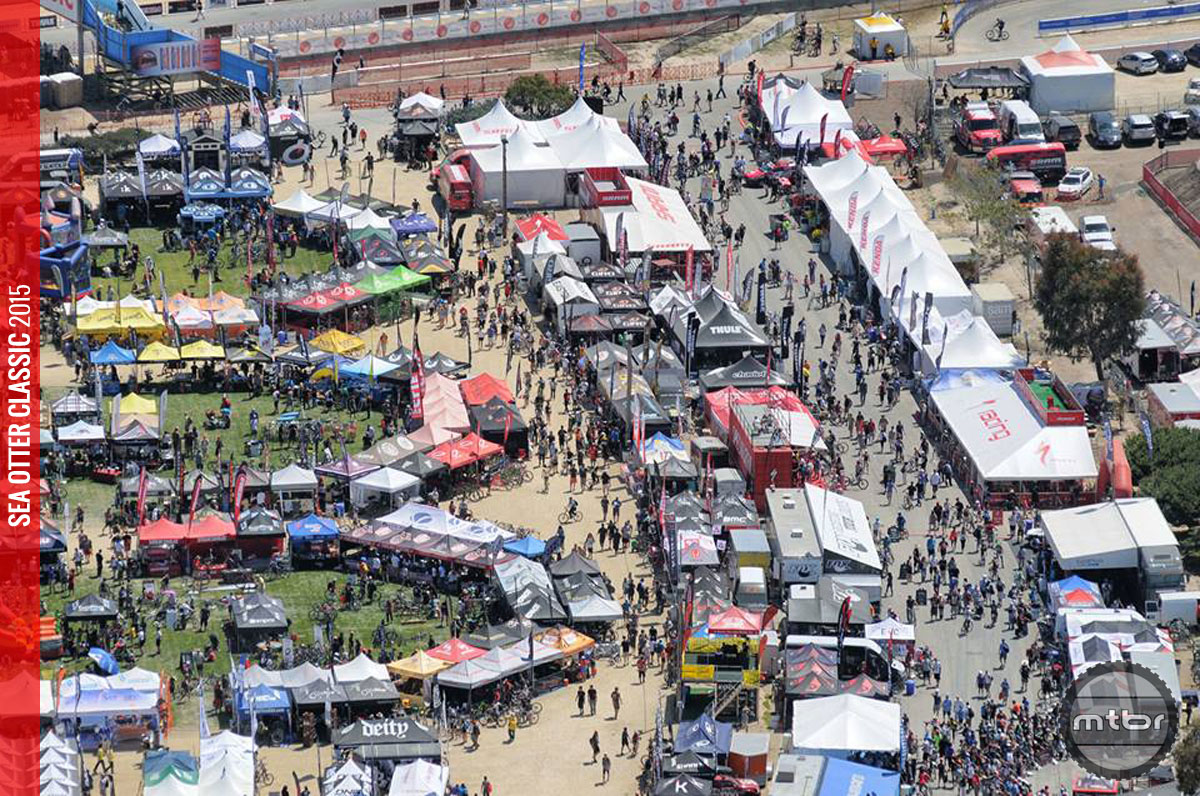 The Sea Otter Classic hosts more than 65,000 attendees over the course of four days. Photo courtesy of Sea Otter Classic