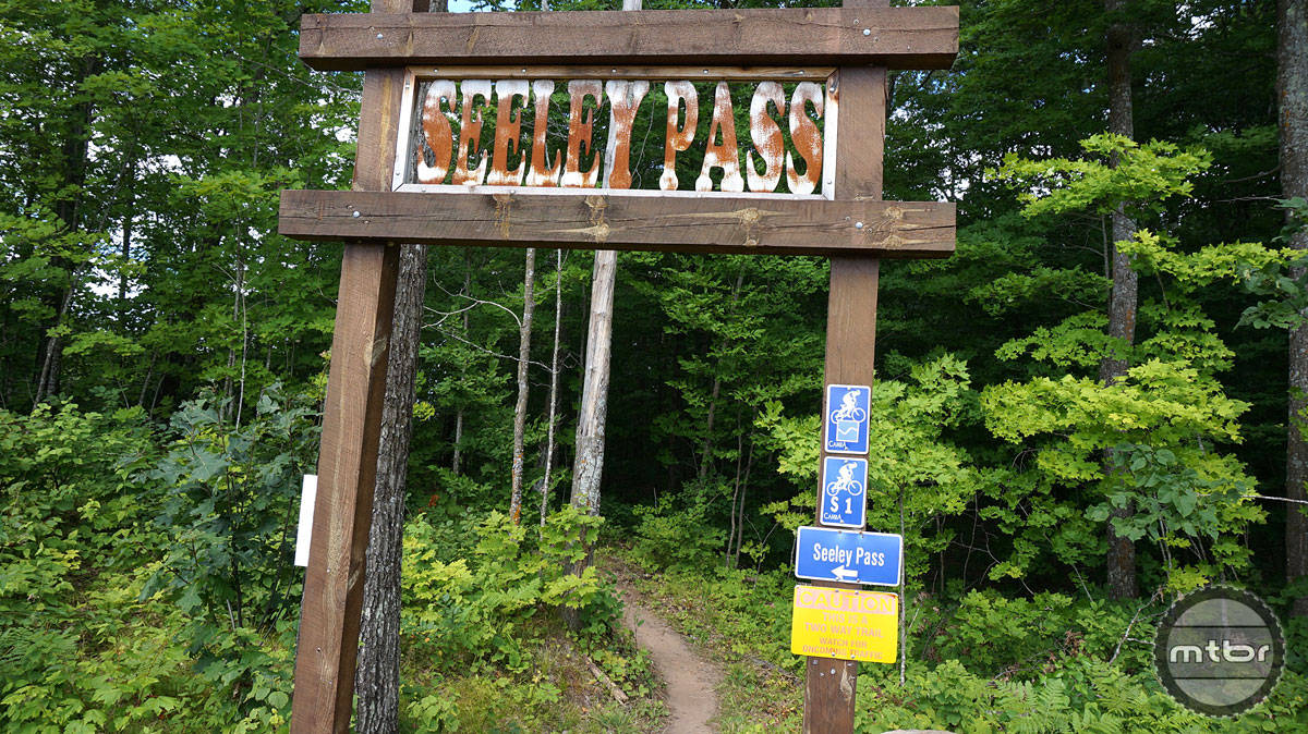 Seeley Pass begins at the OO Trailhead and offers a fun, fast, flowy trail experience.