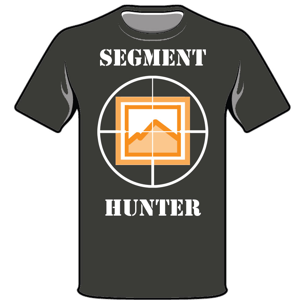Strava Segment Hunter T-shirt