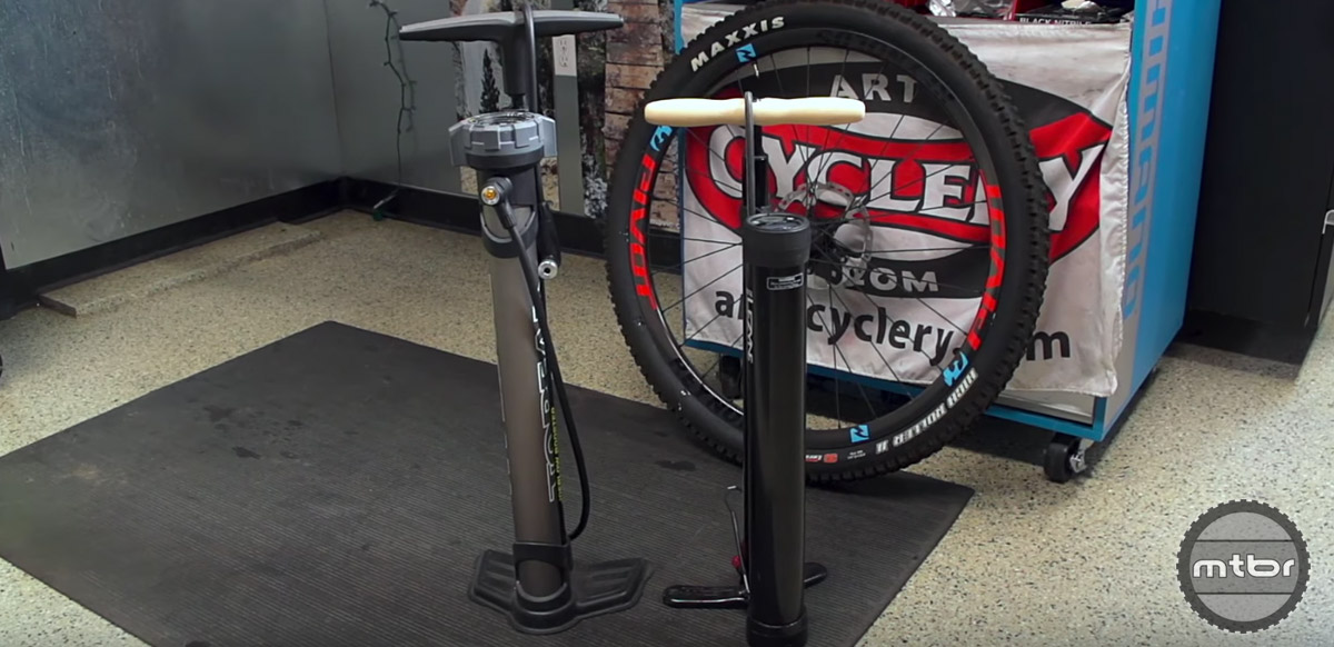How to choose a mountain bike pump