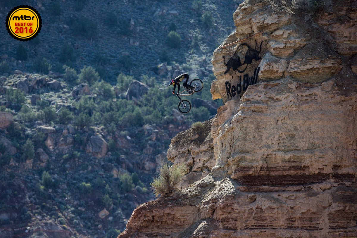 Semenuk sailed to his second career Red Bull Rampage victory.