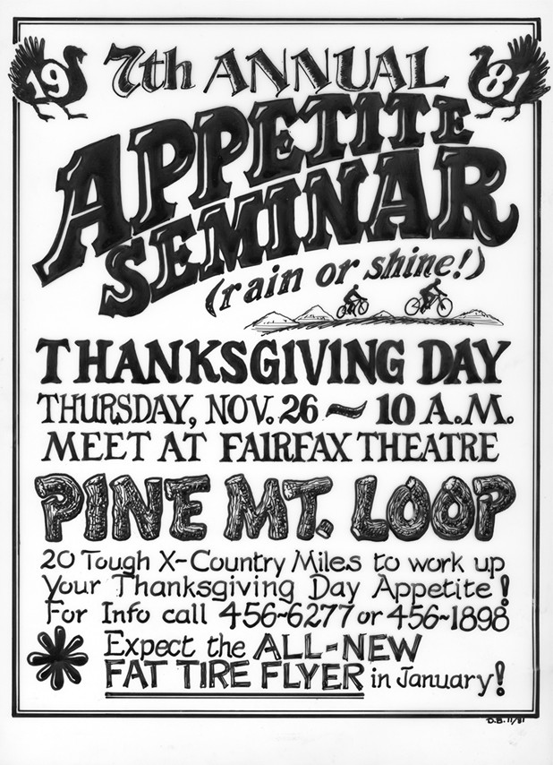 All Turkey Day rides!  Where are they and when?  Lets see who is earning their meal!-seminar81poster.jpg