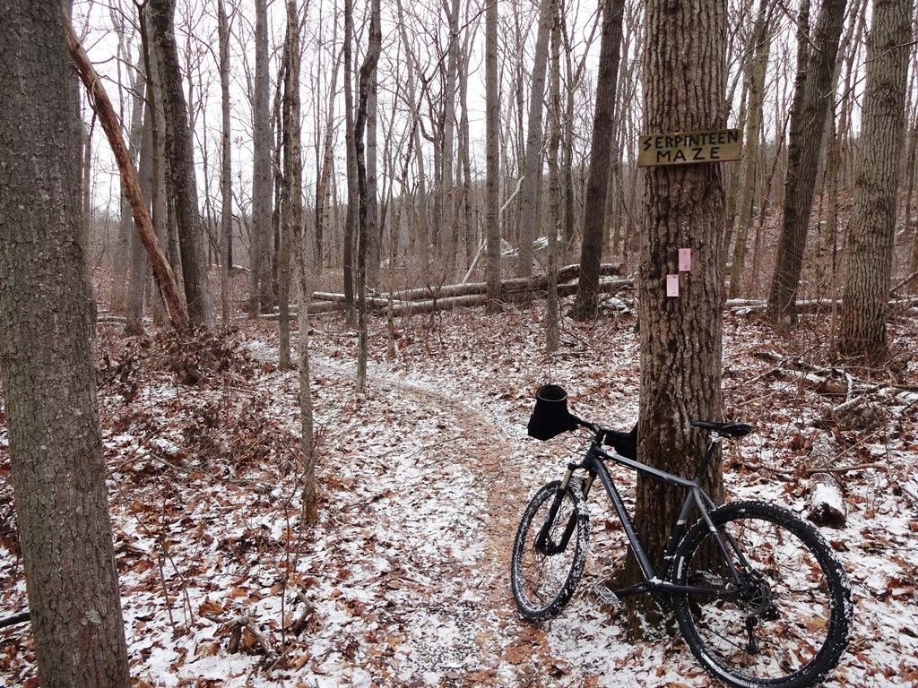 Bike + trail marker pics-serpentine-maze.jpg