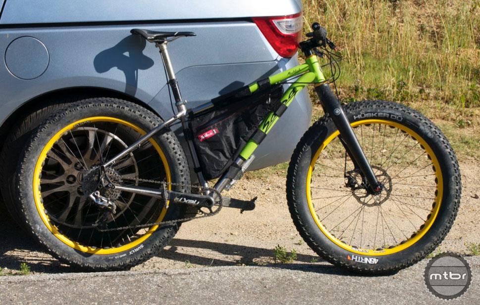 Bike setup #5: Frame bag.