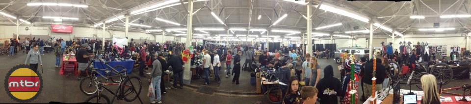 SF Bike Expo - panorama