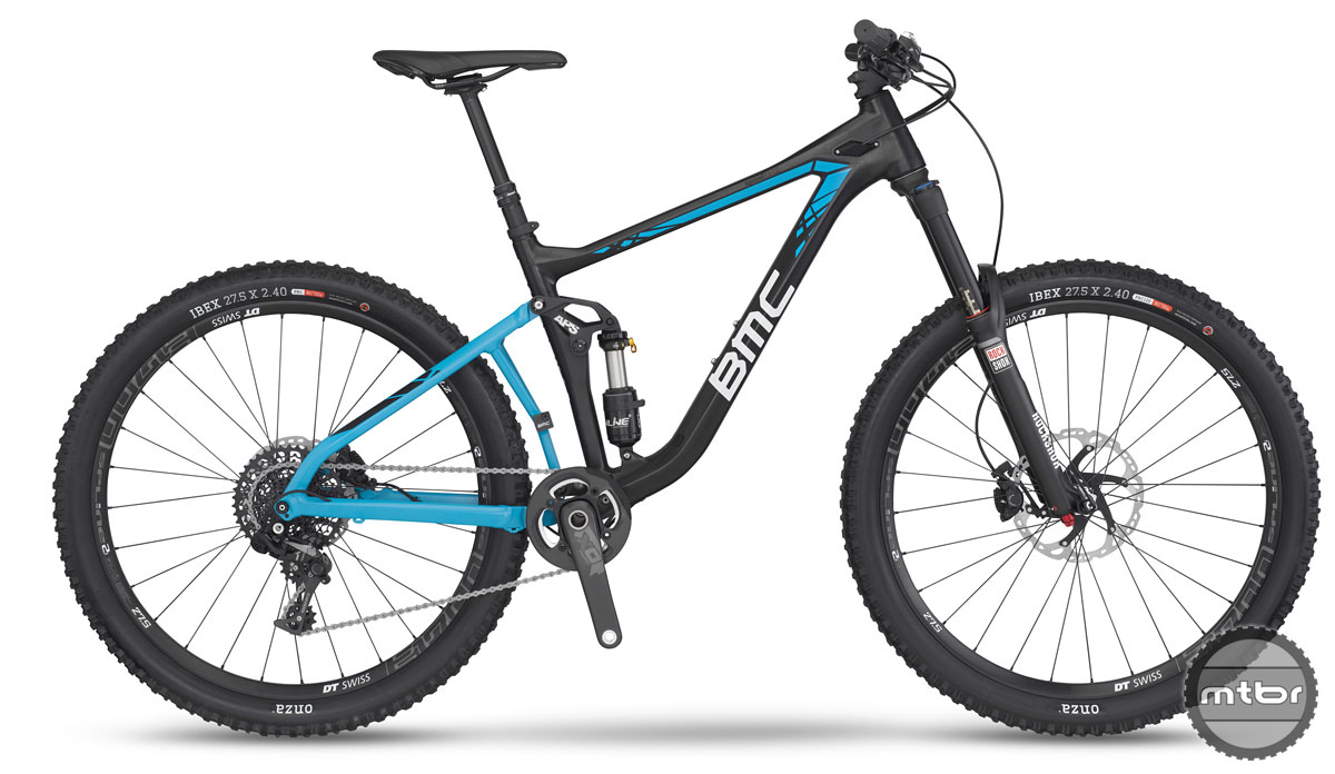 Two builds will be available in the U.S., the $5900 SF02 Trailcrew with SRAM X01 1×11...
