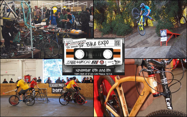 SF Bike Expo - something for everyone