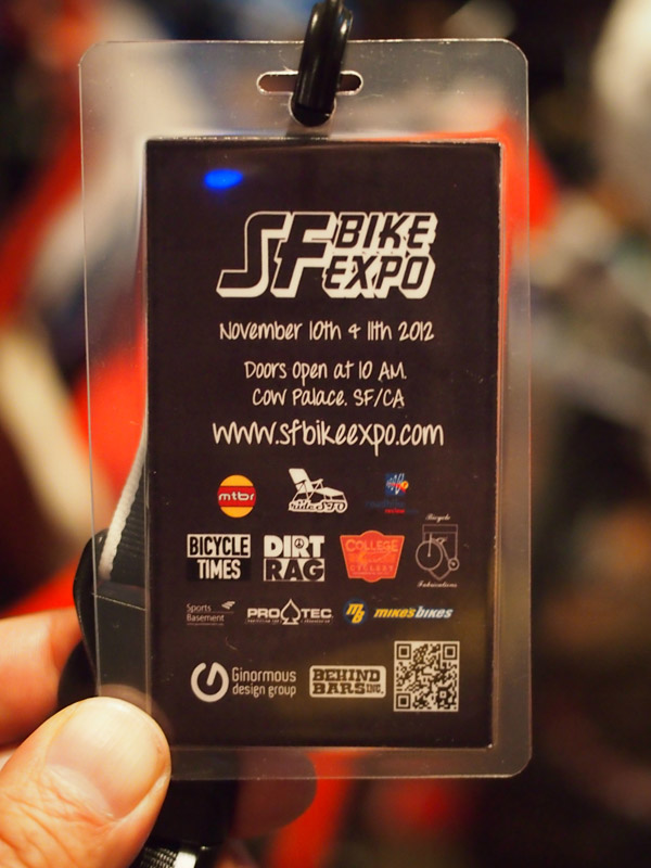SF Bike Expo - media pass