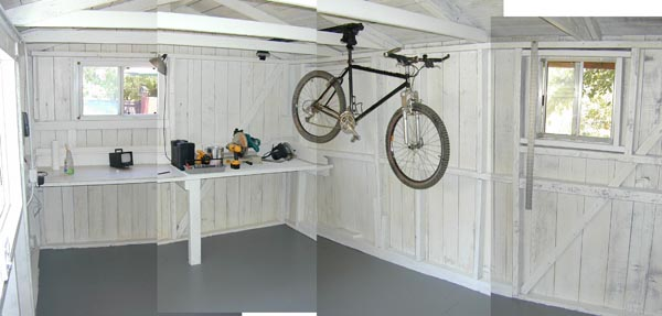 Nice Bike Storage In Shed Shed 7 4 02mtbr