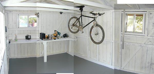 Bike Storage In Shed Shed 7 4 02mtbr