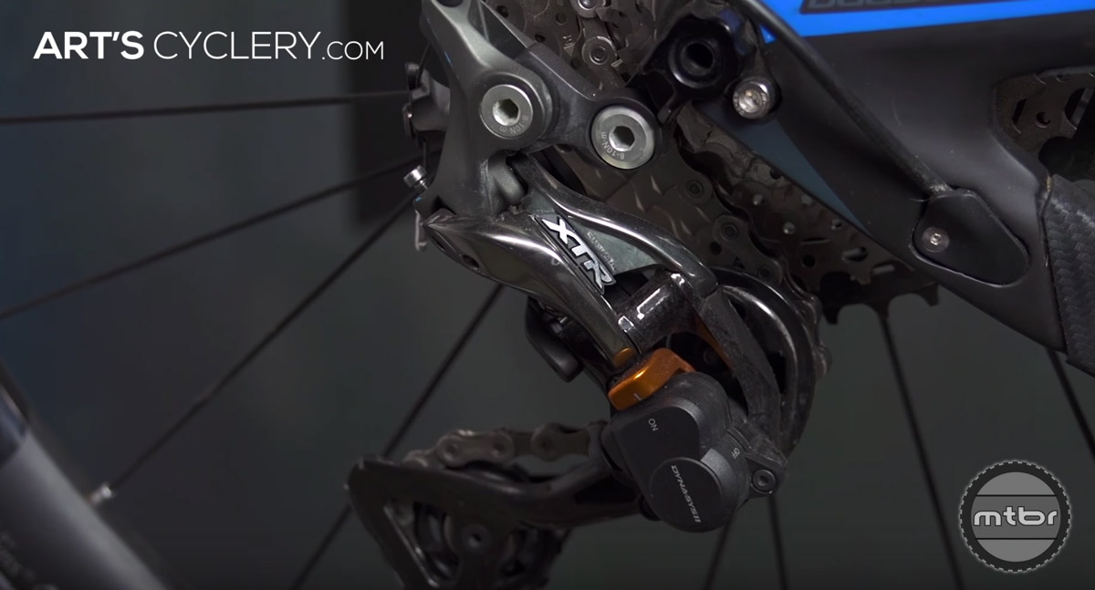 Although rear derailleurs are critical to your bike's functioning, their value is overrated. They're only as good as the shifter that they're attached to.