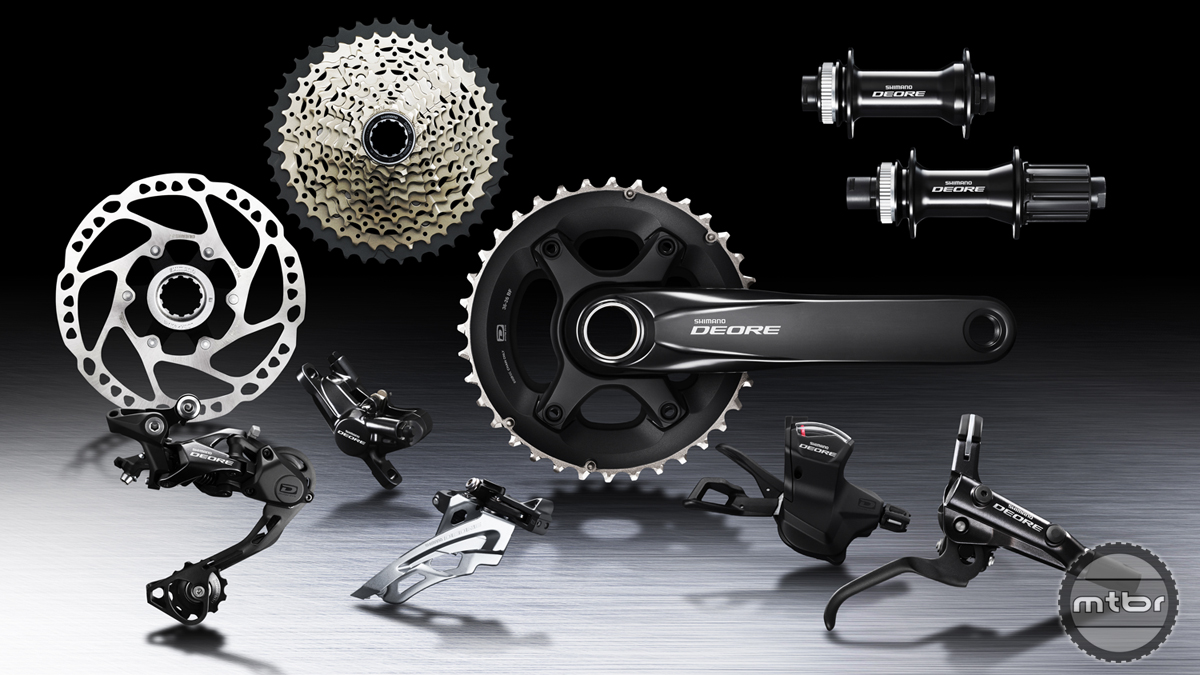 Shimano Deore M6000 Groupset