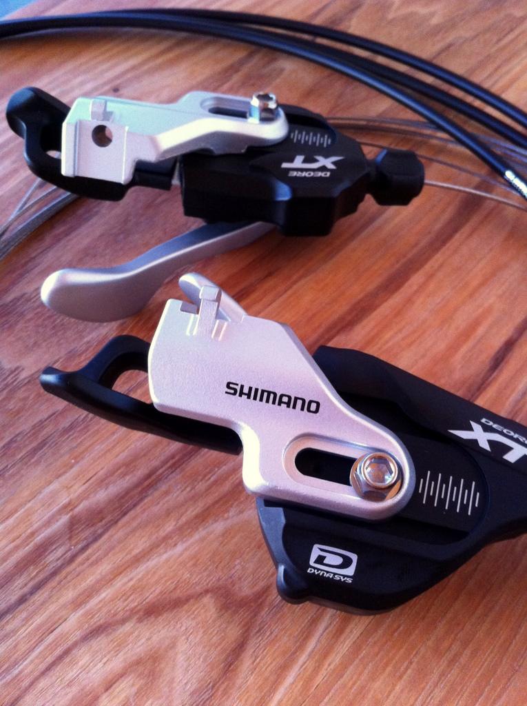 Shimano Deore XT drivetrain