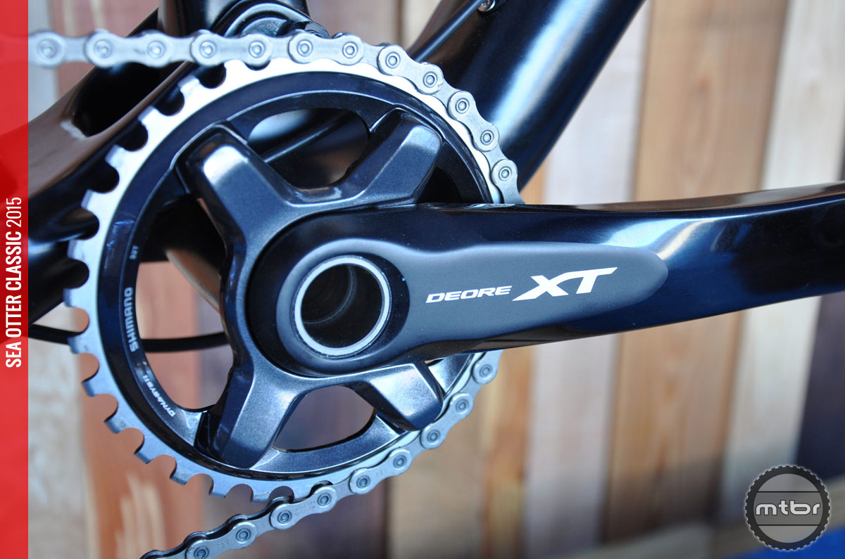Cranks are available for 2x or 1x.
