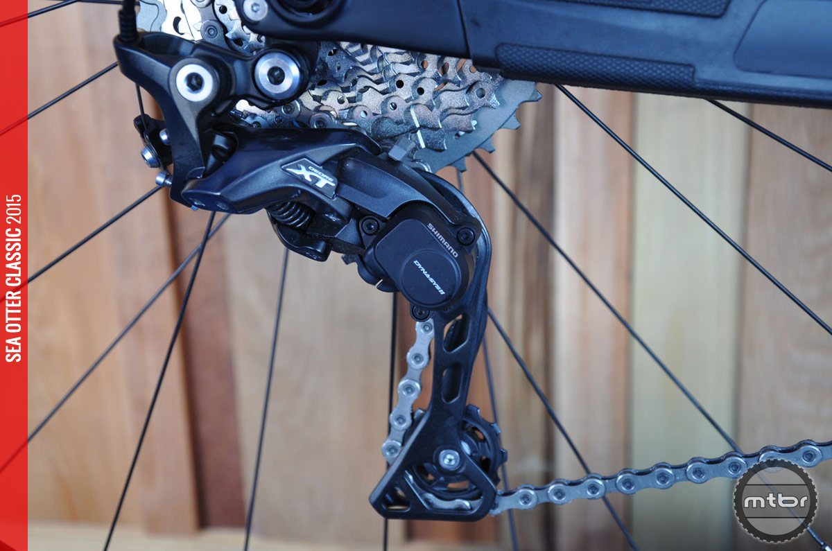 Rear derailleurs have lighter action.