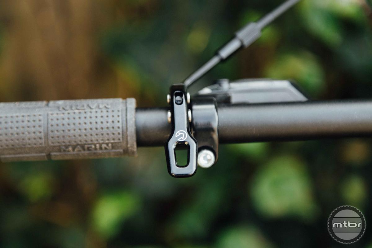 Shimano Koryak 30.9 120mm Mechanical Dropper Post Bar Lever