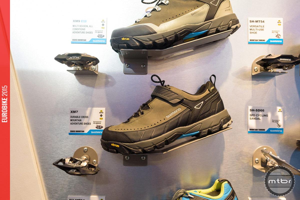 Shimano XM9 Mountain Touring shoe.