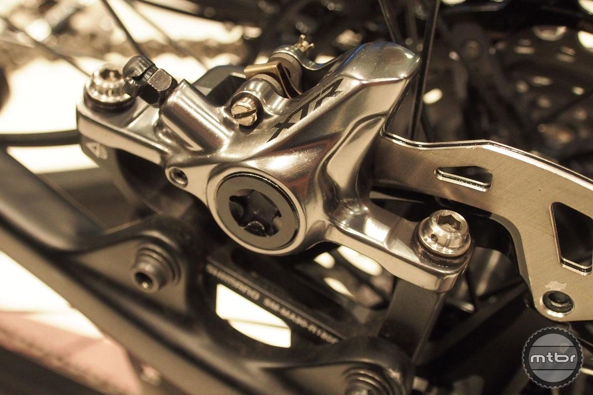 New Shimano XTR Brakes