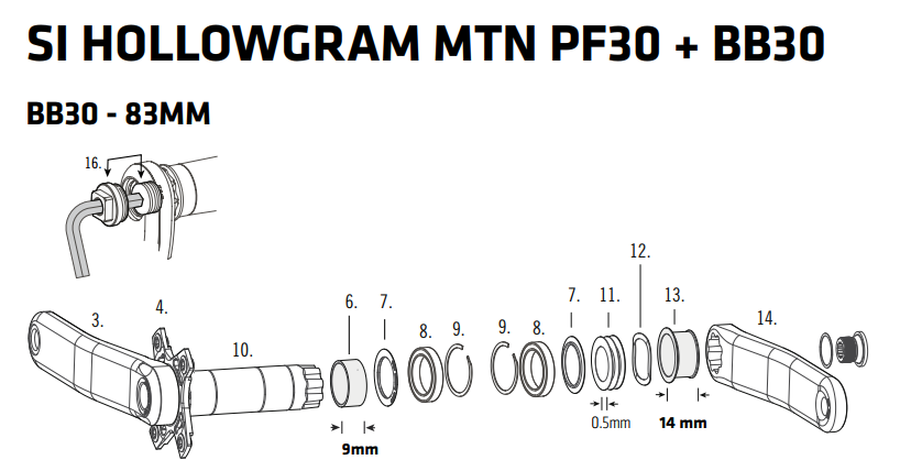 Cannondale scalpel carbon 2 eagle with quarq xx1 boost powermeter-si_hollowgram_pf30.png