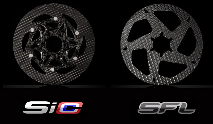 SiCCC carbon rotors