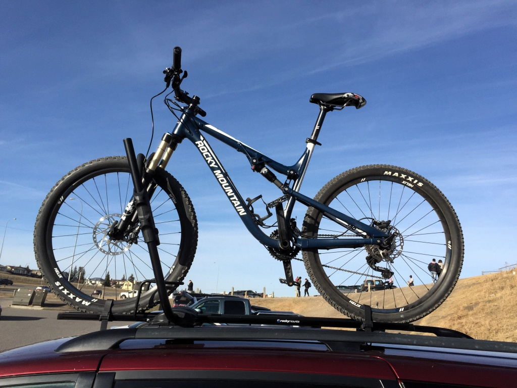 Early Impressions Of Rockymounts Tomahawk Roof Rack Mtbr Com