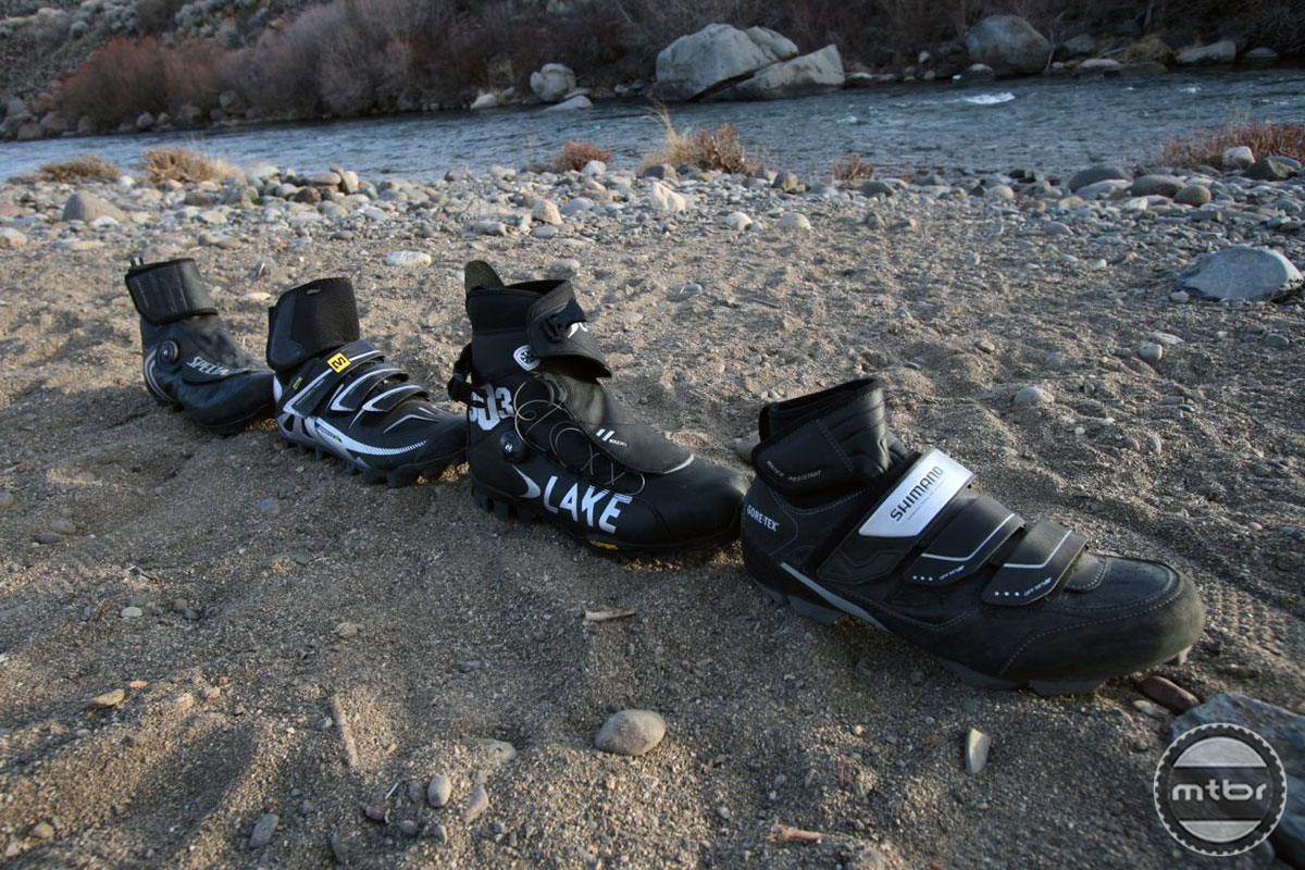 New Winter Cycling Shoes from Mavic and Shimano