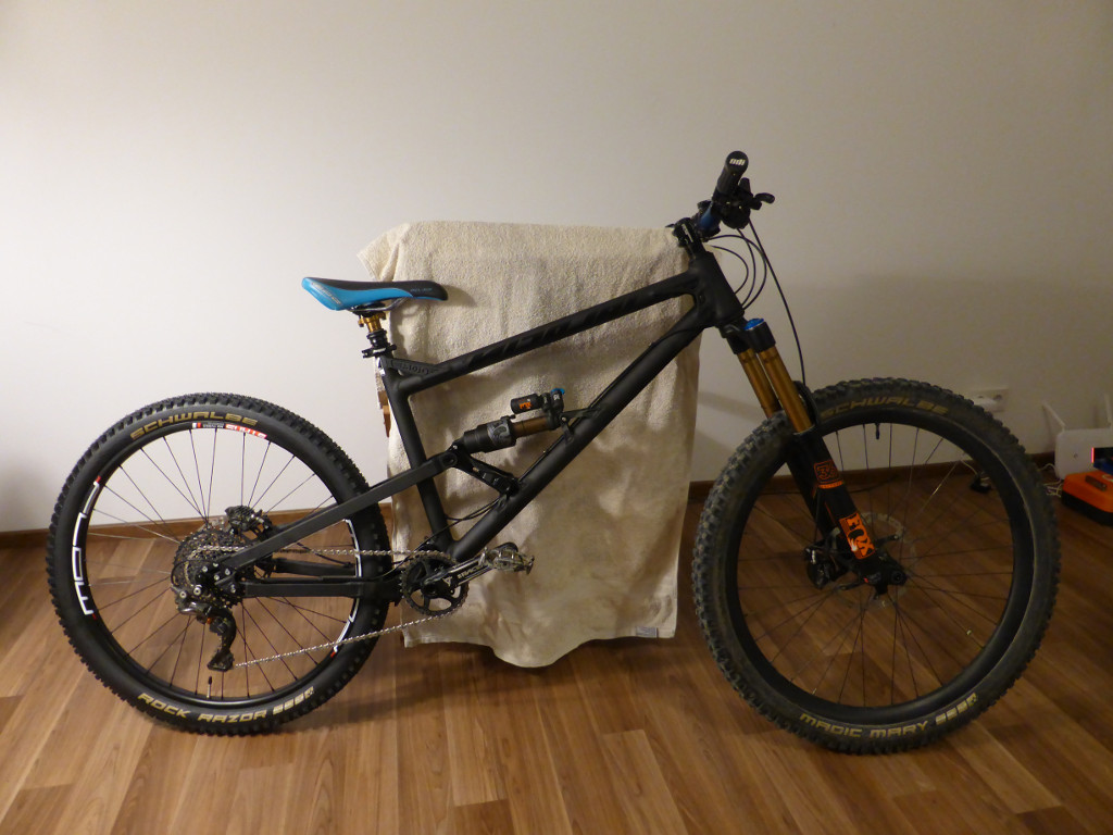 Nicolai/Mojo GeoMetron build/riding/Development Thread-side-view.jpg