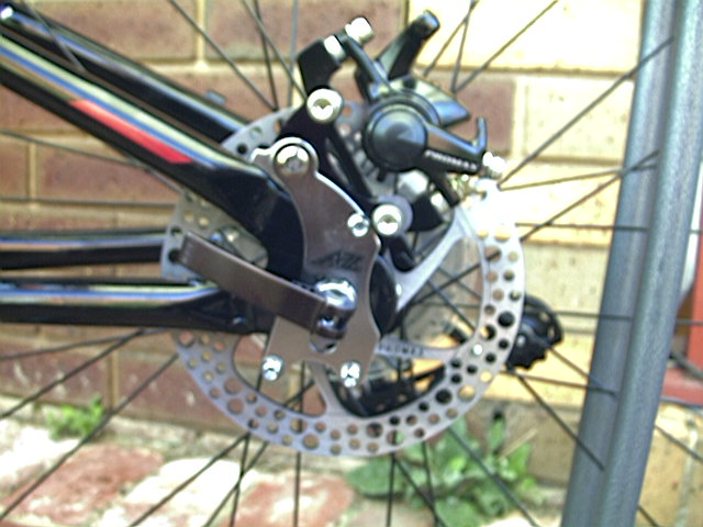 A2z Disk Brake Adapter For Frames Without Disk Mount