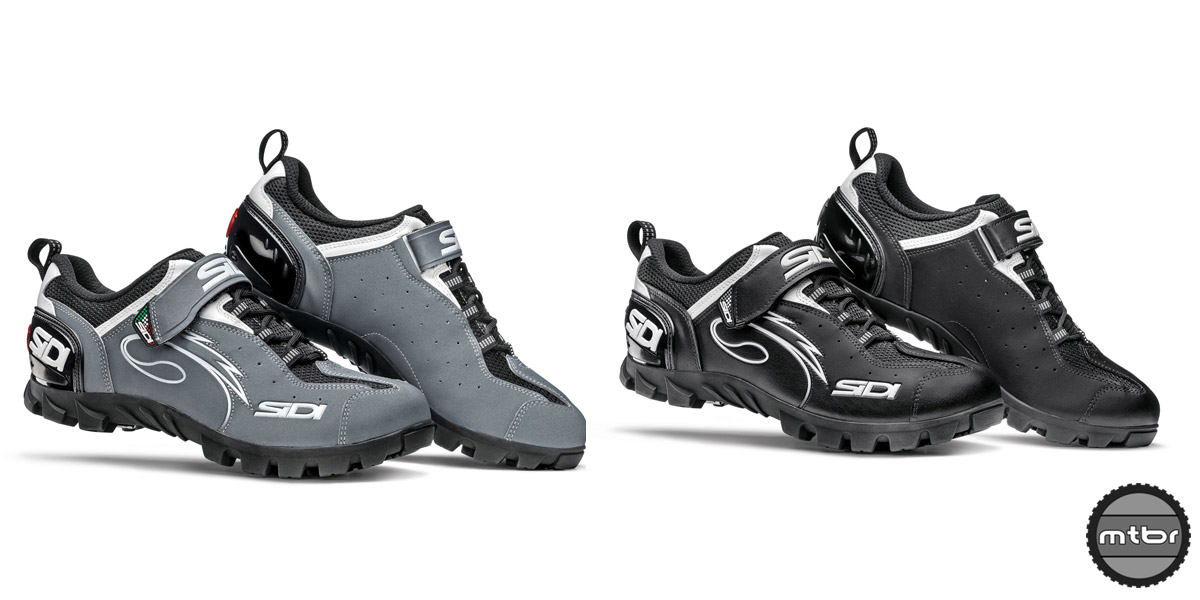The all new Sidi Epic comes in two colors: gray and black.
