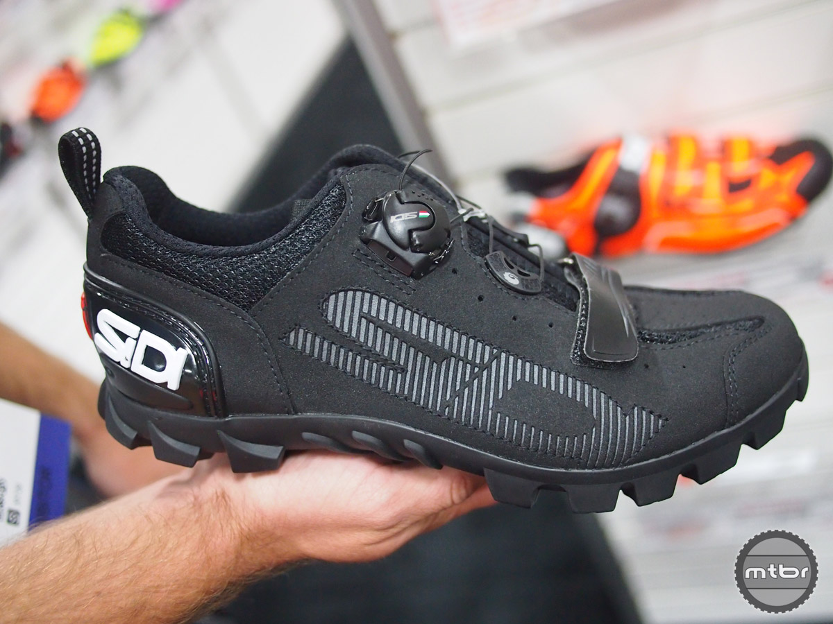 "The Sidi SD 15 features  an ""outdoor"" oriented sole and retails for $199.99."