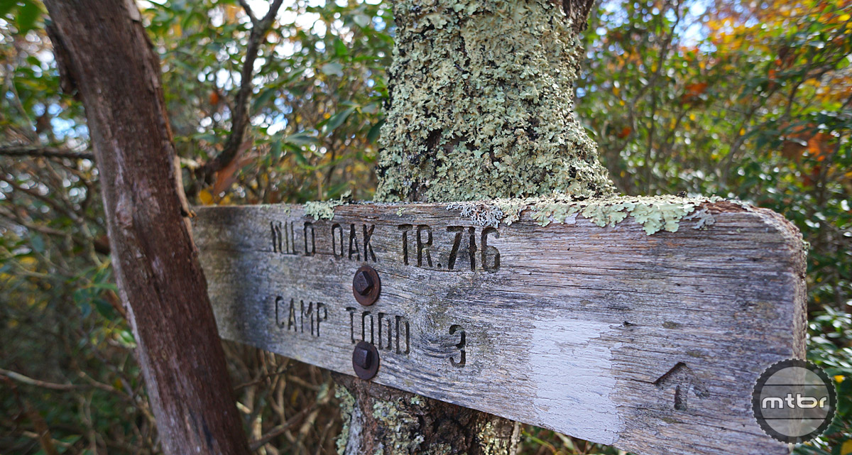 Historic forest service signs point the way while giving the area a true backcountry feel.