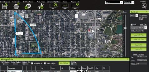 Silca Mobile Drone Request Software
