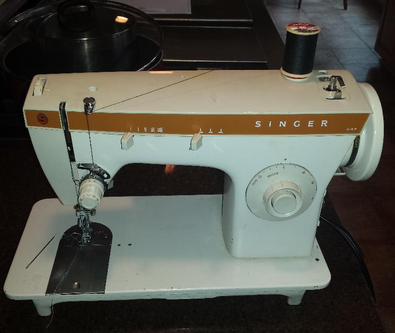 Vintage Sewing Machines For DIY Bikepacking Gear Mtbr Simple Italian Sewing Machines