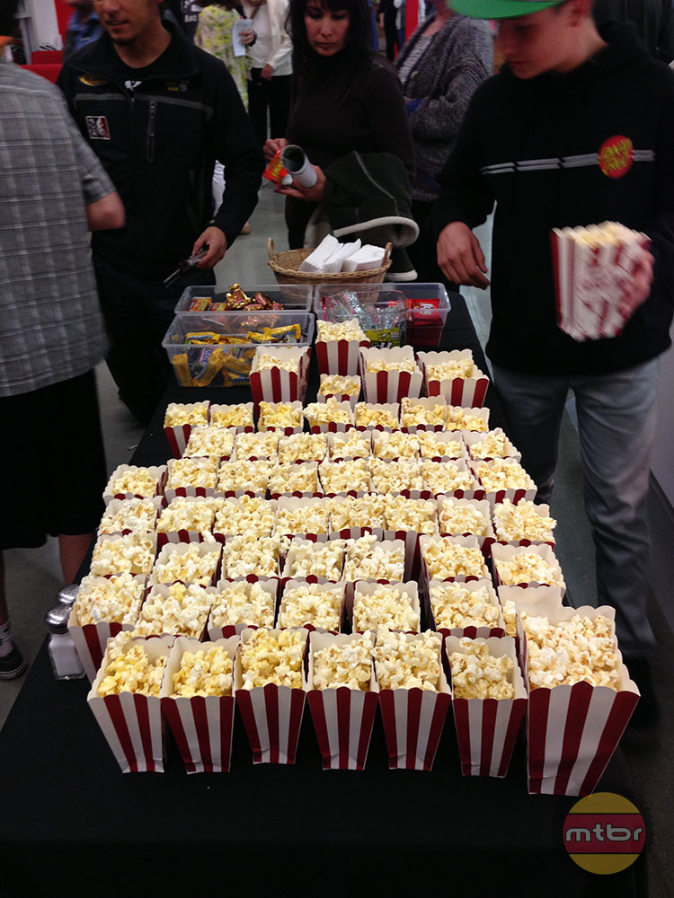 Screening snacks