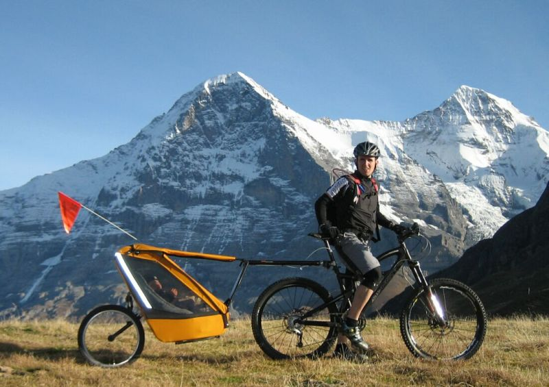 Can I tow a kid trailer with my full-suspension bike ...