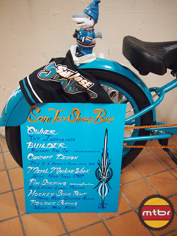 SJ Sharks Bike - build/concept info