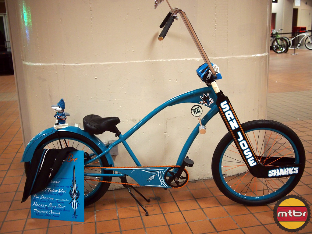 San Jose Sharks Bike