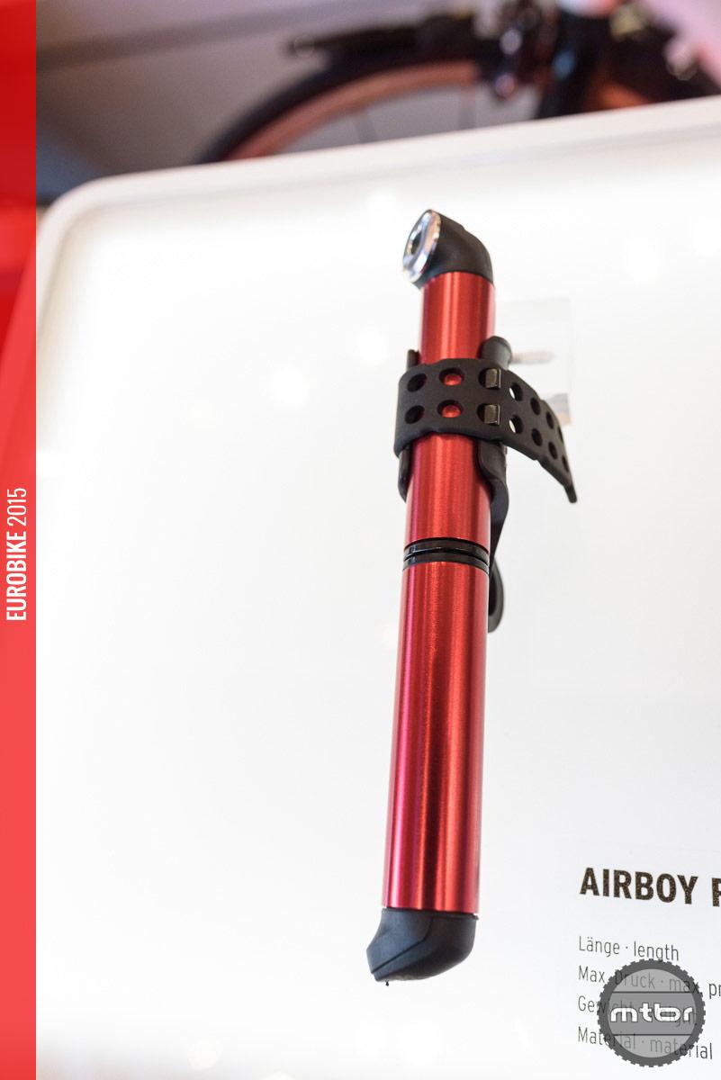 SKS Airboy minipump in red.