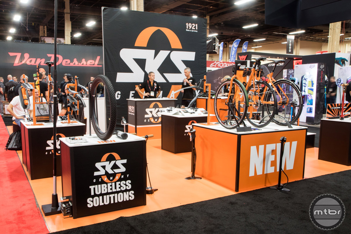 SKS Interbike 2016 Booth