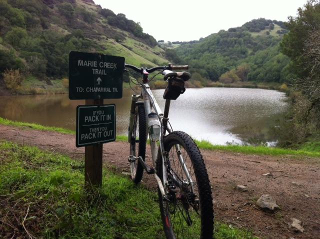 Bike + trail marker pics-skyline-lake-marie.jpg