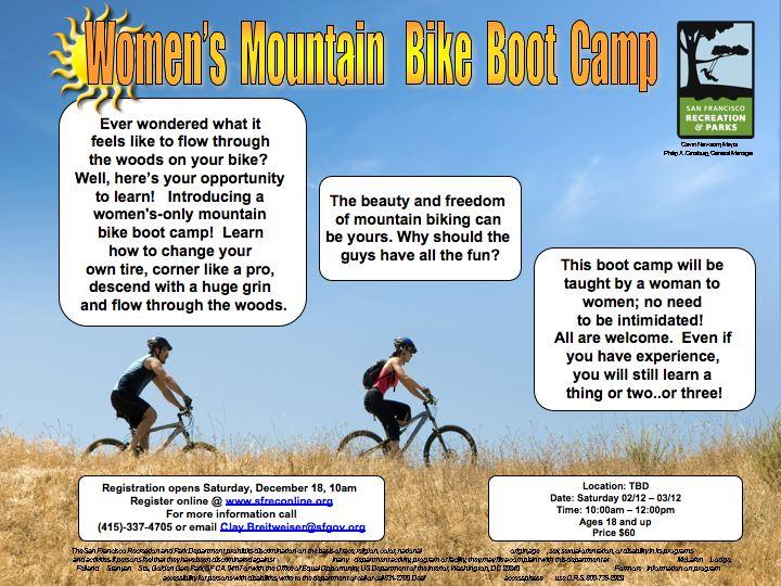 Women's Mountain Bike Boot Camp -  San Francisco STARTS Feb 12th-slide1.jpg